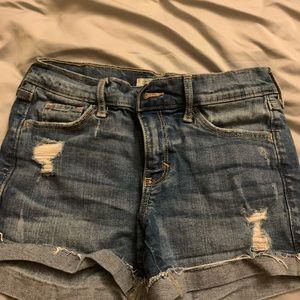 A & F Jean Shorts